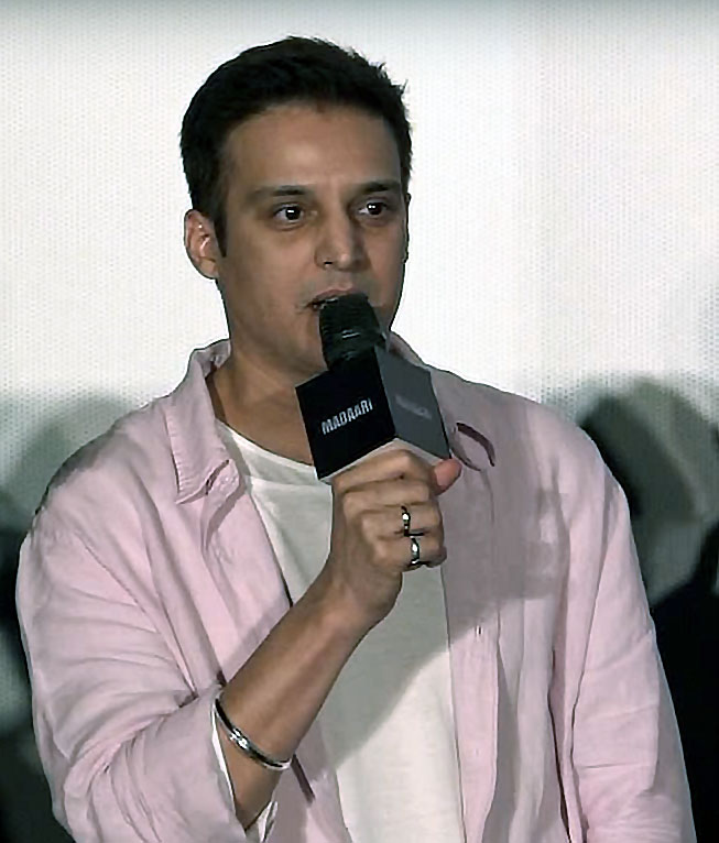 Jimmy Shergill at the launch of Duma Dum song from Madaari
