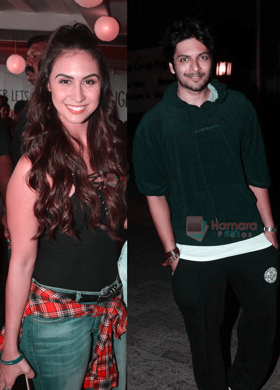 Lauren Gottlieb and Ali Fazal couple on a blind date