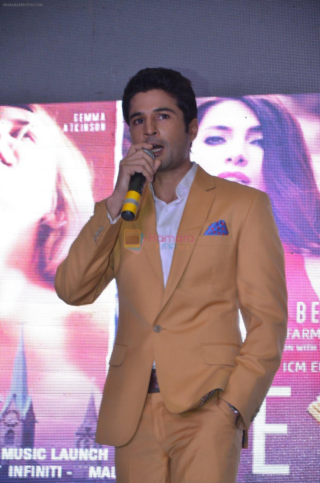 Rajeev Khandelwal during the music launch of the film Fever in Mumbai, India on June 24, 2016
