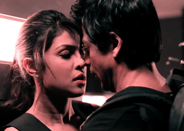 SRK and Priyanka Chopra in Don2