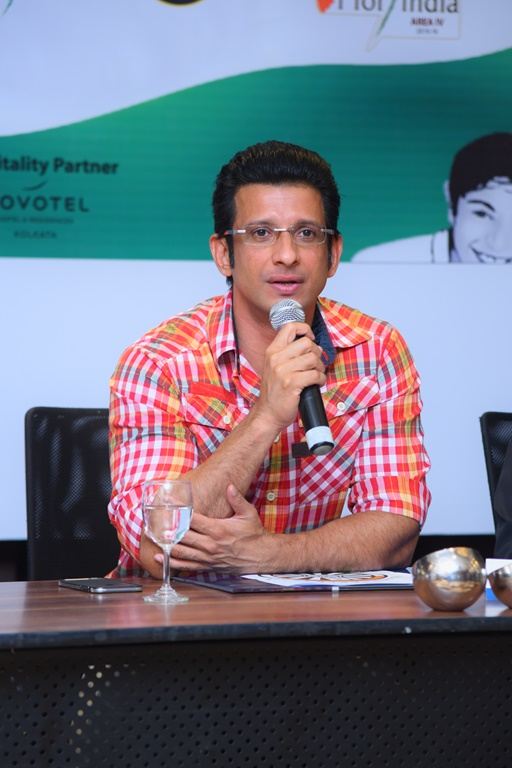 Sharman Joshi at the Press Conference for the announcement and signing of Brand Ambassador of global movement Round Table India
