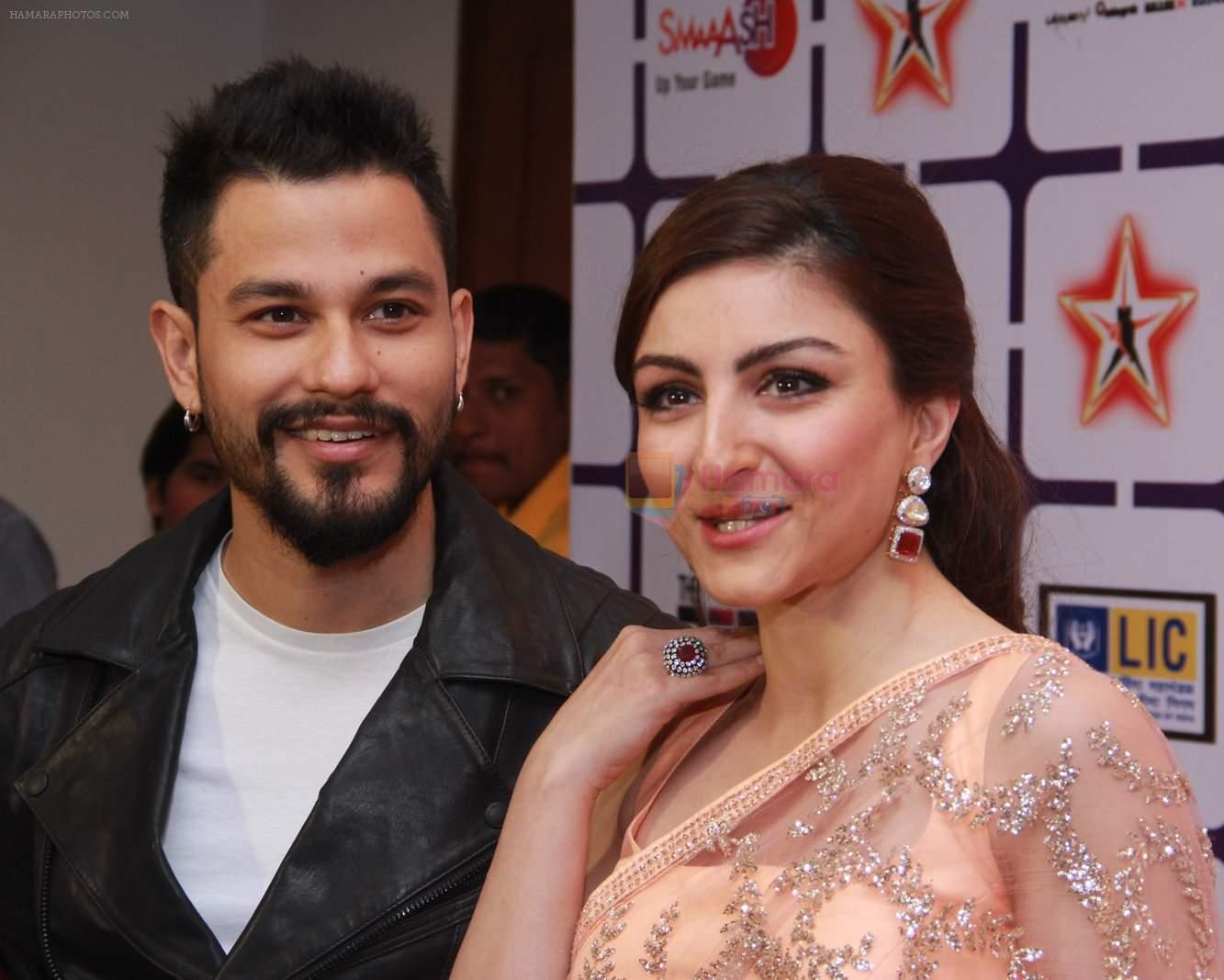Soha Ali Khan and Kunal Khemu at Star Nite on 26th Dec 2015