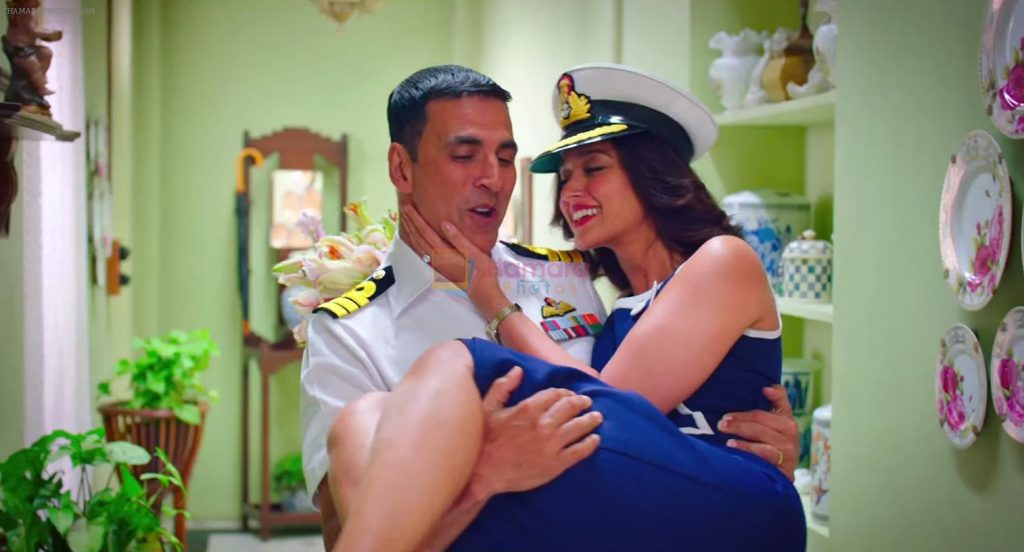 Akshay Kumar, Ileana DCruz in Rustom Movie Stills