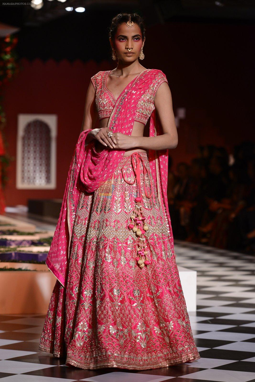 Model walk the ramp for Anita Dongre show