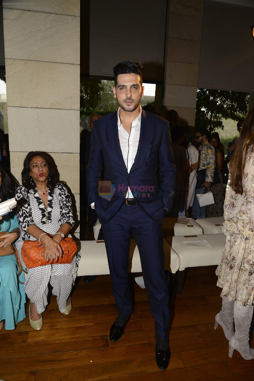 Zayed Khan during Manav Gangwani latest collection Begum-e-Jannat at the FDCI India Couture Week 2016 on 24 July 2016
