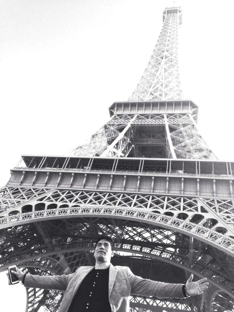 First Time Ever French European Indian Fashion Week on the Eiffel Tower