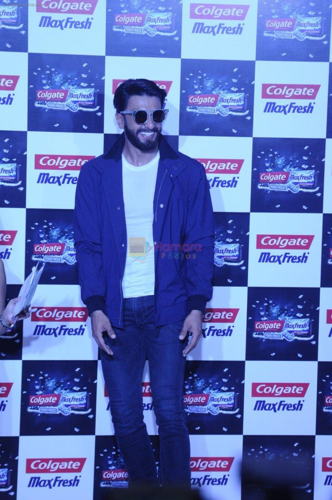 Ranveer Singh at Colgate event on 22nd Aug 2016