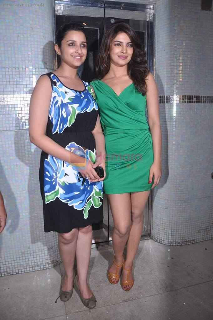 Priyanka Chopra, Parineeti Chopra at Ishaqzaade success party in Escobar on 26th May 2012