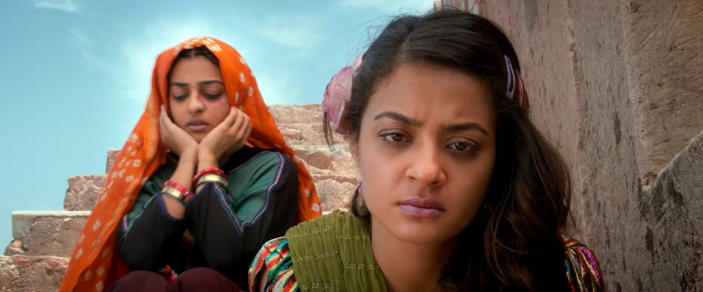 Radhika Apte, Surveen Chawla in Parched