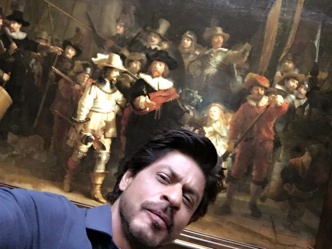 Shah Rukh Khan with Rijksmuseum