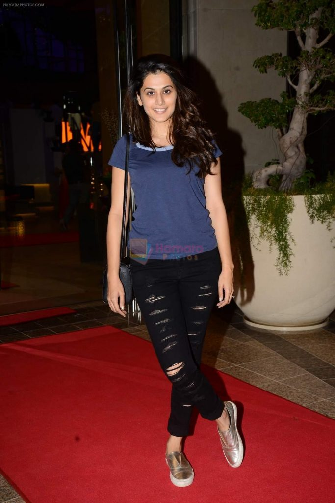 Taapsee Pannu at SIIMA 215 Day 1 on 5th Aug 2015