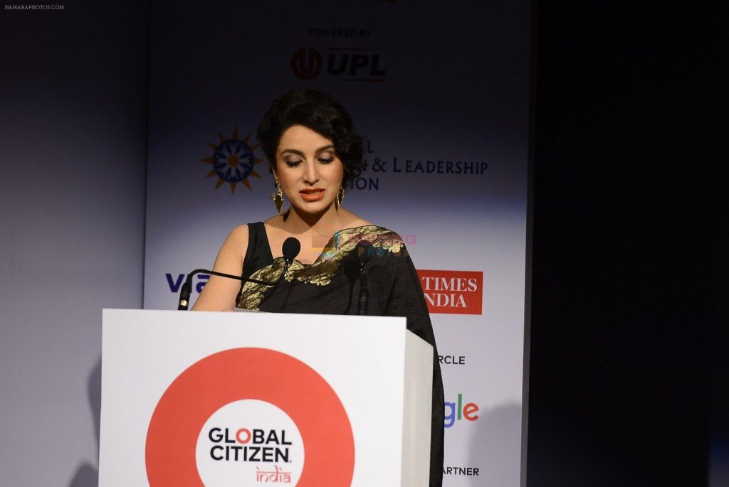 Tisca Chopra at the launch of Global Citizen India on 11th Sept 2016