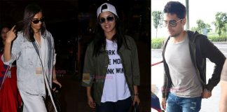 Siddharth Malhotra, Sunny Leone and Sonam Kapoor were at the airport on 29th June 2017
