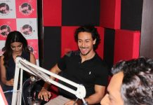 Tiger Shroff and Nidhhi Agerwal promote their upcoming film Munna Michael on Red FM on 22nd June 2017