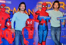 Tiger Shroff at press conference for Spider-Man Homecoming on 27th June 2017