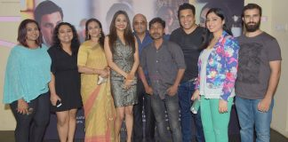 Cast and Crew at the special screening of the film SAB THEEK HAIN on 27th July 2017