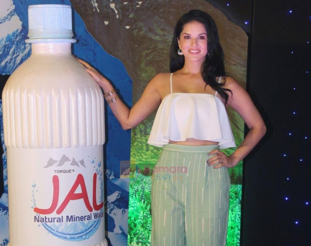 Sunny Leone at the launch of new product Jal from Torque Pharma on 23rd July 2017