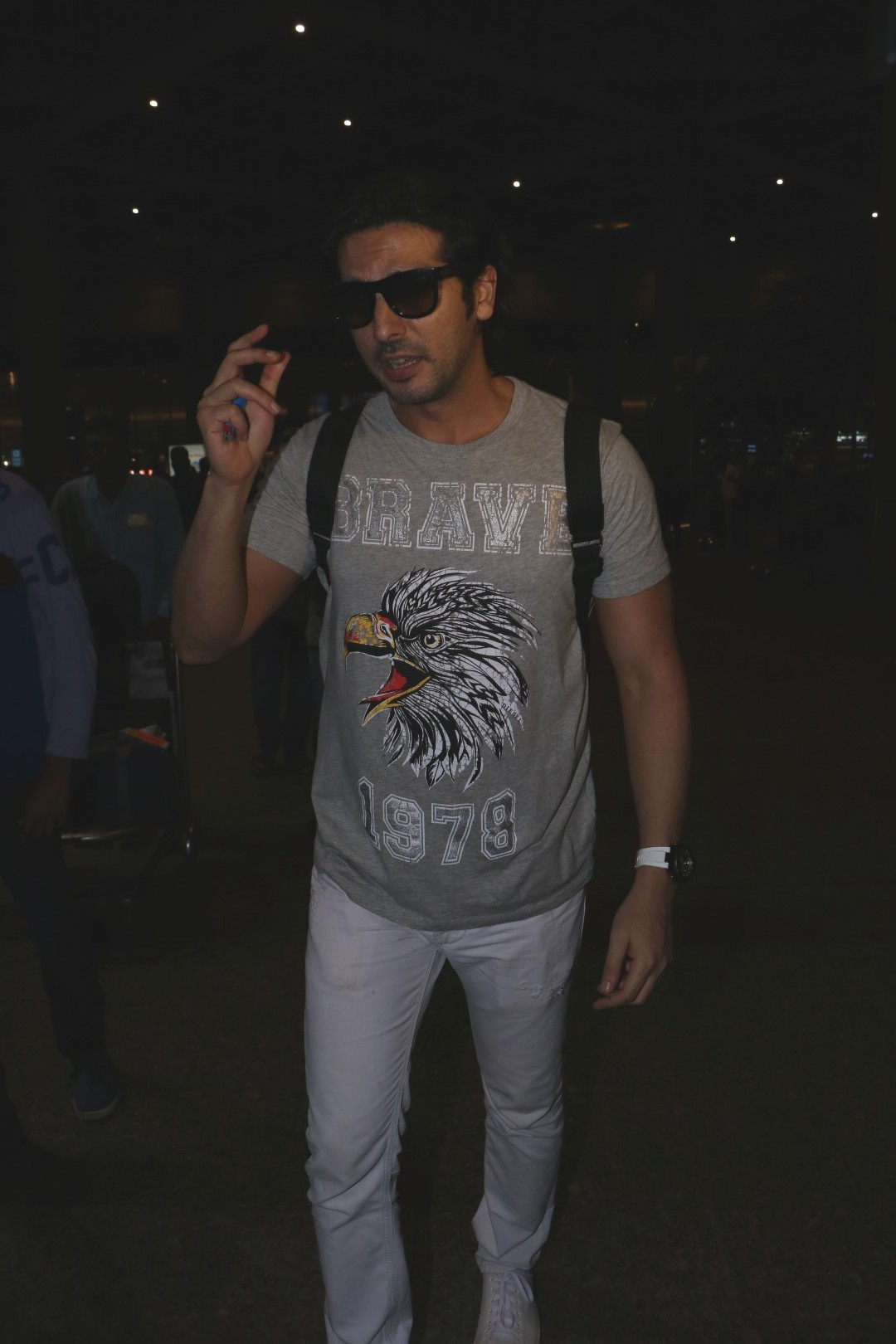 Zayed Khan Spotted At Airport
